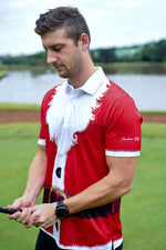 "CA ""Father Christmas"" Golf Shirt 