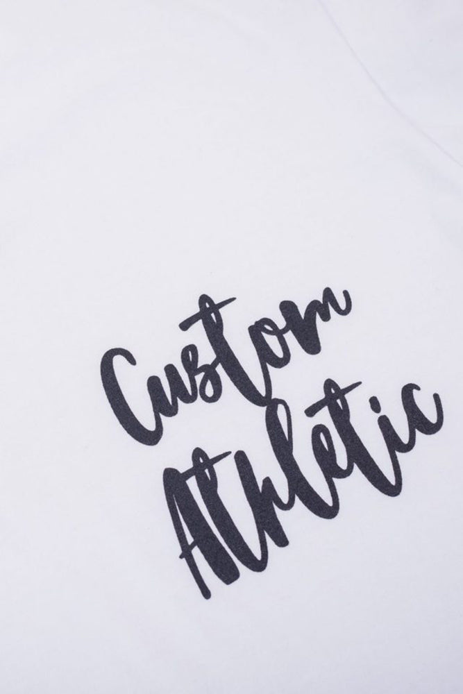 Custom Graffiti Tee | White