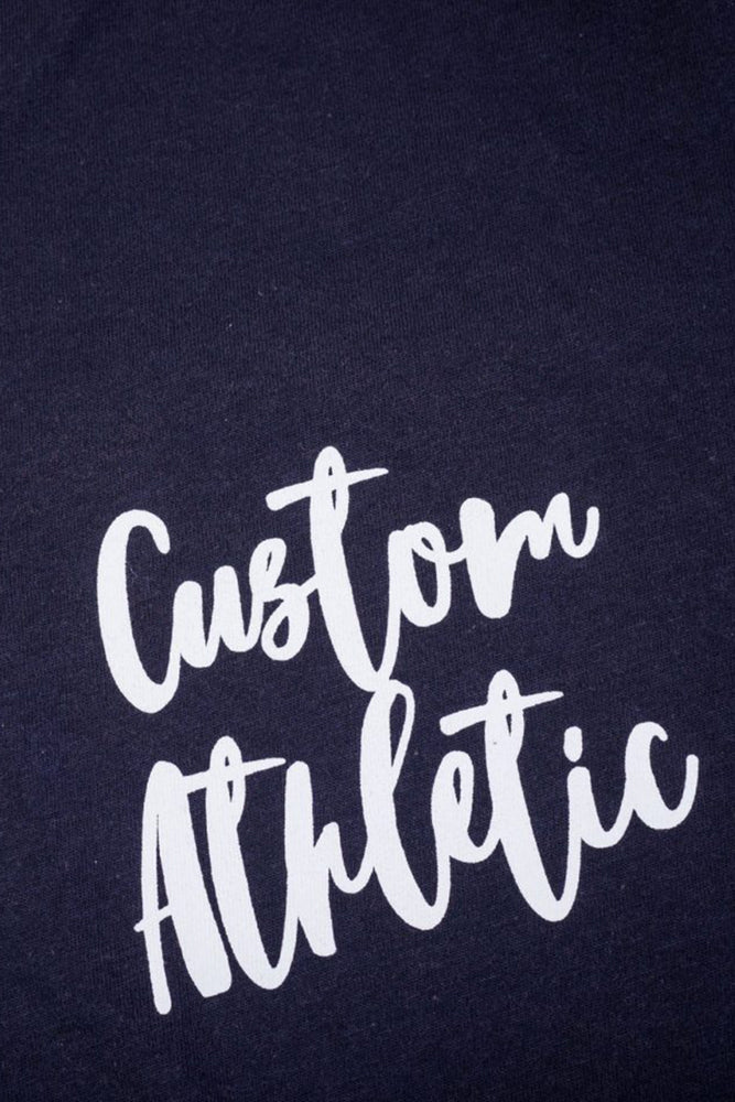 Custom Graffiti Tee | Black