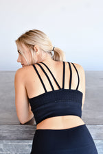 CA Seamless Sports Bra | Black