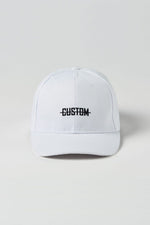 Custom Dad Hat | White