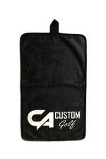 CA Golf Towel | Black