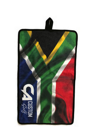 CA Golf Towel | RSA Flag