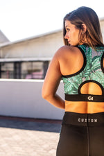 CA Sports Bra - Grey Tropical