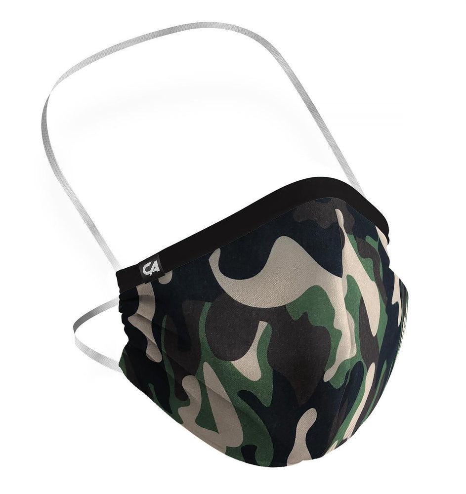 Camouflage Face Mask - Adult size