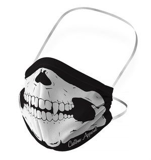 Skeleton Face Mask - Kids size