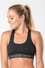 CA Ladies Crop Top | Black