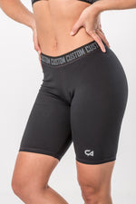 CA Ladies Short Tights | Black