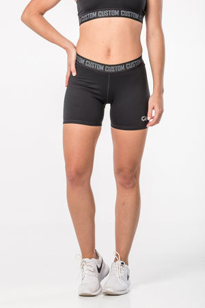 CA Ladies Hot Pants | Black