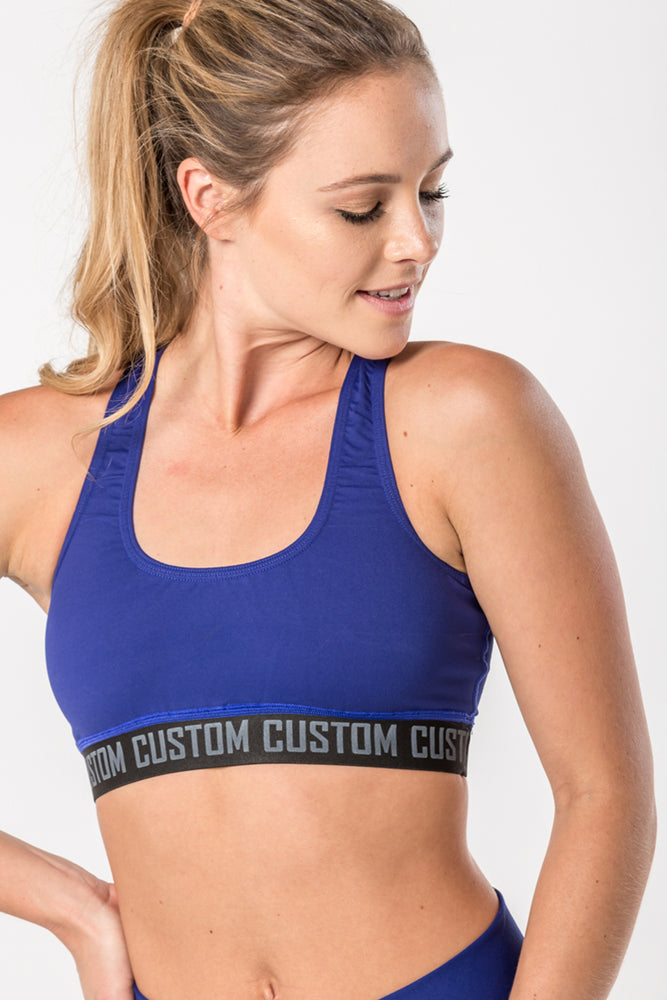 CA Ladies Crop Top | Royal Blue