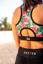 CA Sports Bra - Watermelon Fever