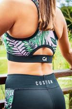 CA Sports Bra - Pink Tropic