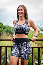 CA Sports Bra - Ice Leopard