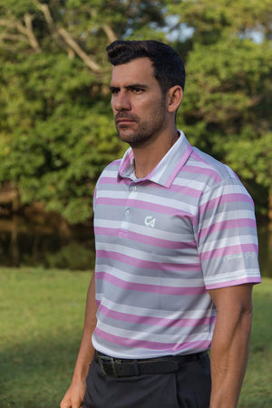 "CA ""Stripe"" Golf Shirts 