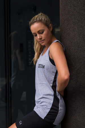 Unisex Custom Core Vest | Grey Melange