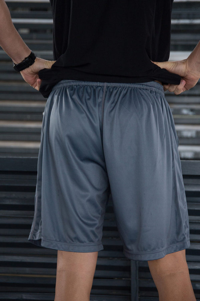 Custom Elite Shorts | Charcoal