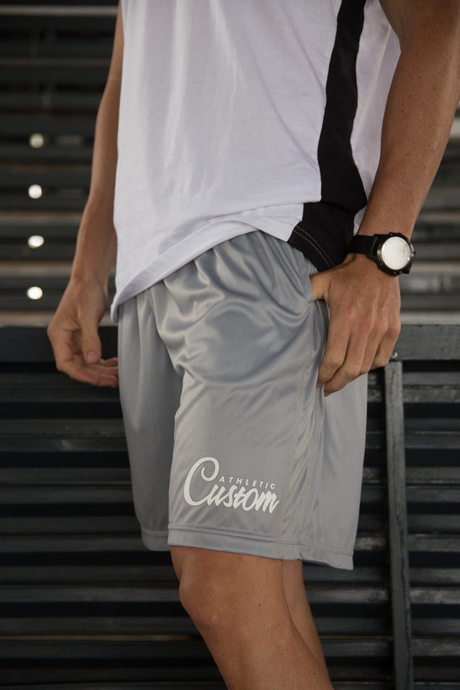 Custom Elite Shorts | Light Grey