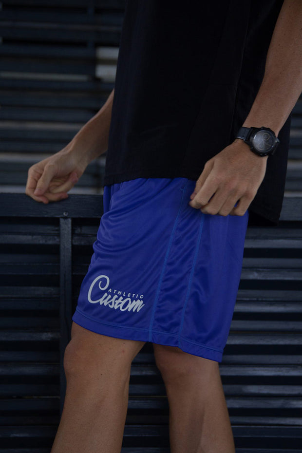 Custom Elite Shorts | Royal Blue
