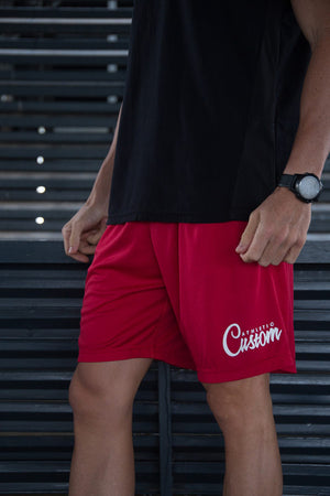 Custom Elite Shorts | Red