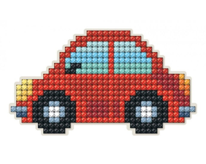 Diamond Painting Magnet Kit - Red Car