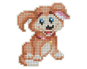 Diamond Painting Magnet Kit - Cartoon Dog