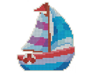 Diamond Painting Magnet Kit - Boat