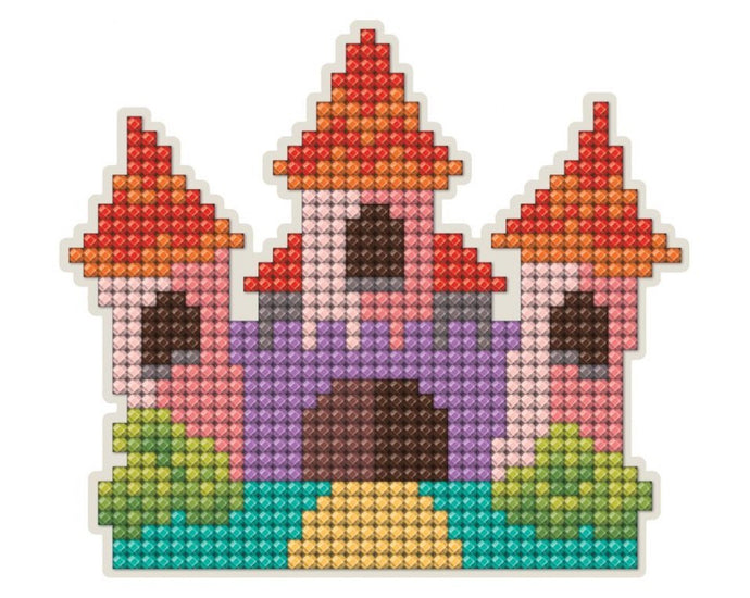 Diamond Painting Magnet Kit - Castle