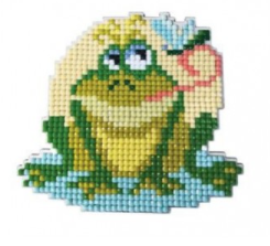 Diamond Painting Magnet Kit - Frog Prince
