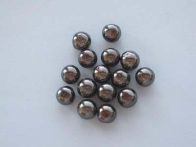 Glass pearls round 14mm