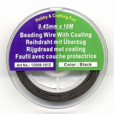 Beading wire with coating 0,45mmx10m