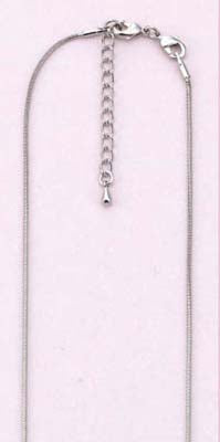 Bead 2 Bead Jewelry: Necklace Fine (1,2mm)