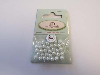 Glass Pearls 6mm