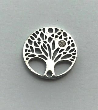 Stainless Steel Charm Tree of Life