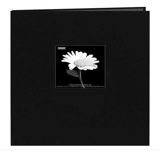 Albúm - Memory Book Black 12 x 12