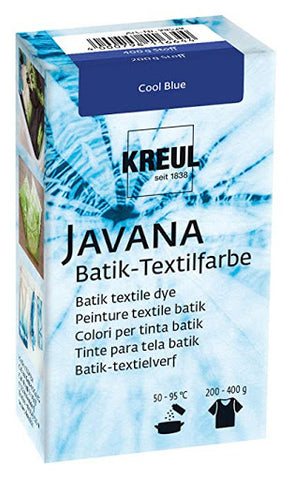 Javana Batik Fatalitur - Cool Blue