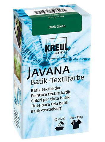 Javana Batik Fatalitur - Dark Green