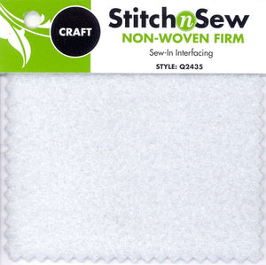 Stitch n' Sew Non-Woven Craft Sew-in Firm