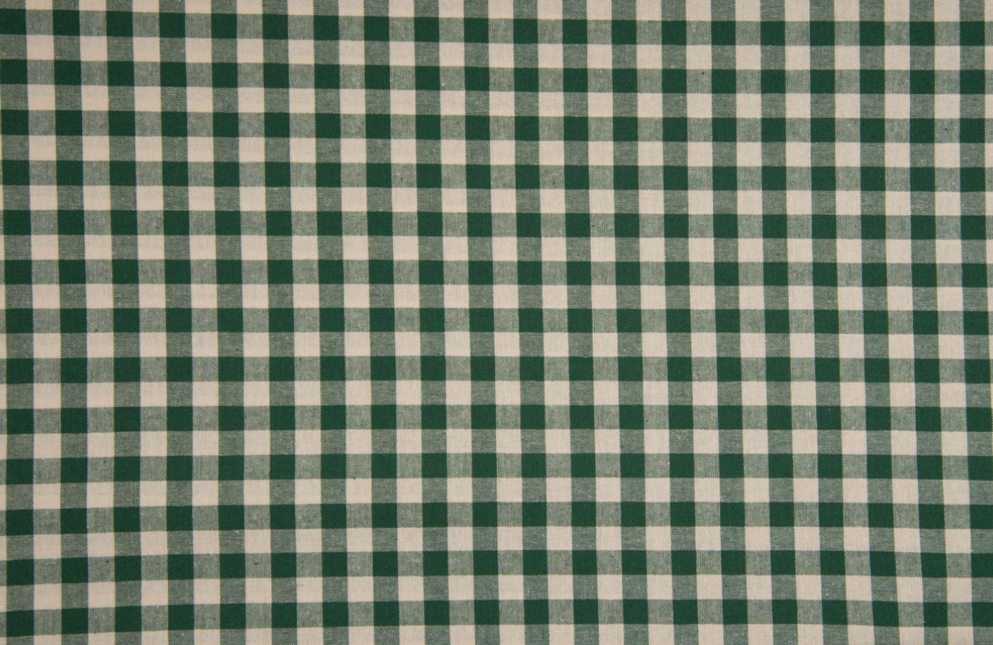 Cotton Poplin- Vichi Check 2 Tone Green