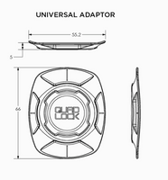 Universal Adaptor by QuadLock