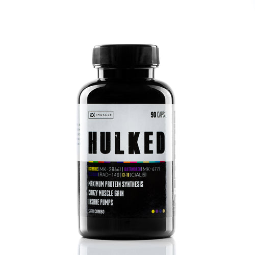 iMuscle HULKED 90 CAPS - imusclefr
