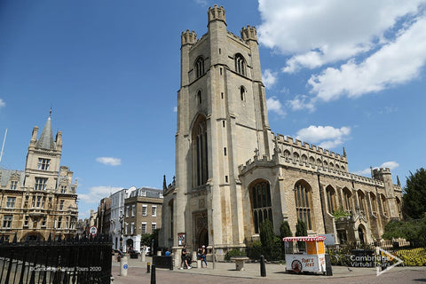 Great St Marys Church Cambridge in UK
