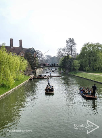 Cambridge punting at University of Cambridge, Cambridge