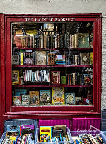 The Haunted bookshop Cambridge UK