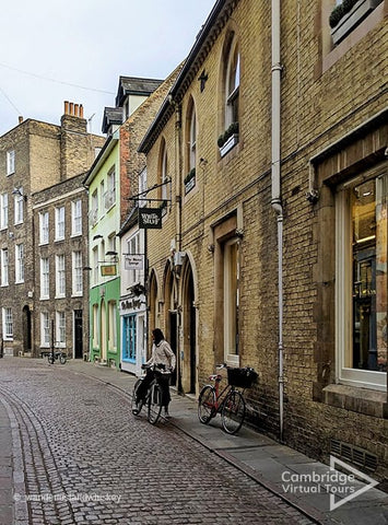 the streets of Cambridge UK