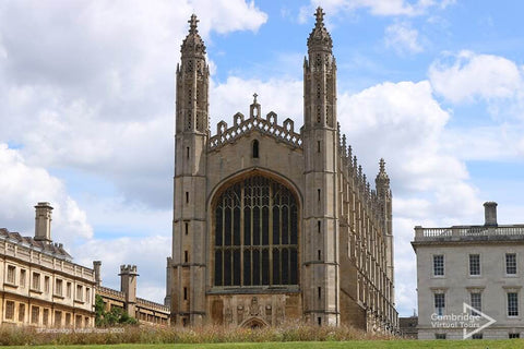 Kings College on the backs in Cambridge in UK