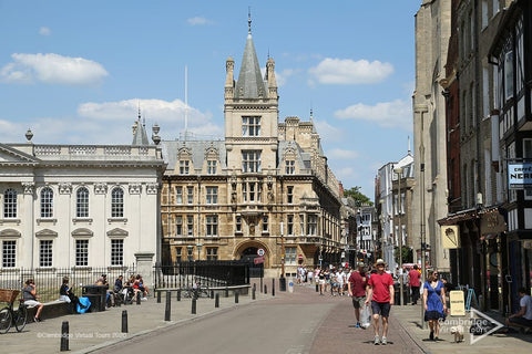 Kings Parade Cambridge in England