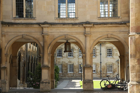 Peterhouse College the oldest Cambridge College at the University of Cambridge UK