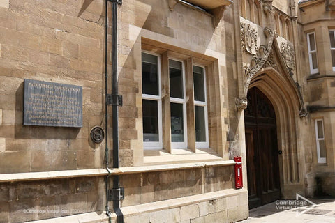 The Old Cavendish Laboratory Cambridge in UK
