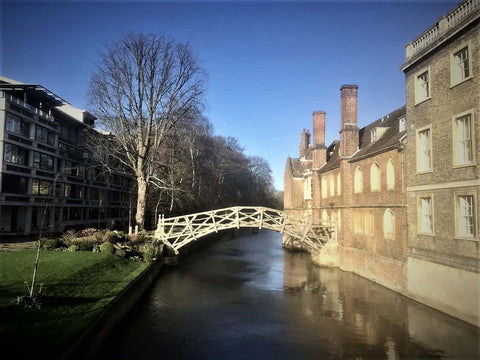Mathematical Bridge Cambridge University Cambridge UK