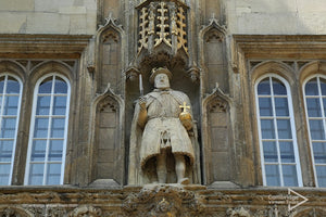 Kings Henry 8th at Trinity College Cambridge University UK